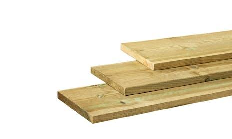 Grenen planken