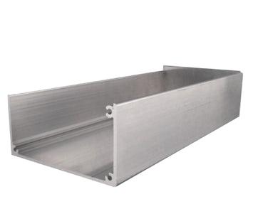 Aluminium dakgoot
