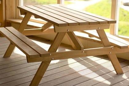Robinia picknicktafel